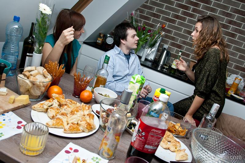 Pełen stół gościnności